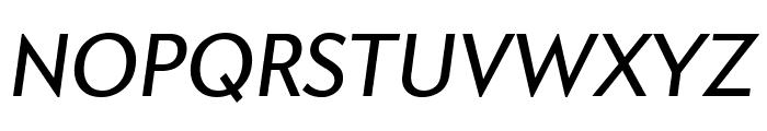 Apres Narrow Italic Font UPPERCASE