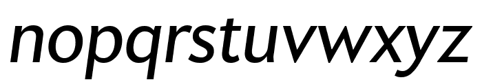Apres Narrow Italic Font LOWERCASE