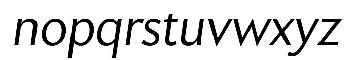 Apres Narrow Light Italic Font LOWERCASE
