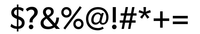 Apres Narrow Regular Font OTHER CHARS