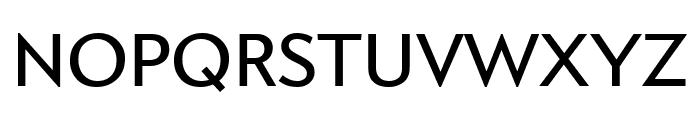 Apres Narrow Regular Font UPPERCASE