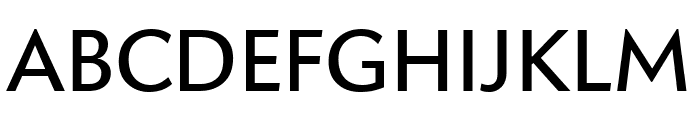 Apres Regular Font UPPERCASE