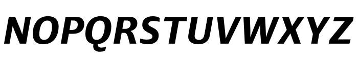 Ardoise Std Bold Italic Font UPPERCASE