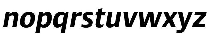 Ardoise Std Bold Italic Font LOWERCASE