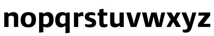 Ardoise Std Bold Font LOWERCASE