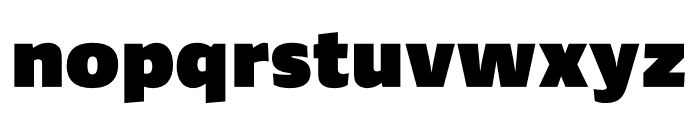 Ardoise Std Compact Black Font LOWERCASE