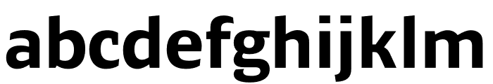 Ardoise Std Compact Bold Font LOWERCASE