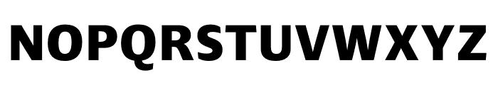 Ardoise Std Compact ExtraBold Font UPPERCASE