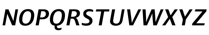 Ardoise Std Demi Italic Font UPPERCASE