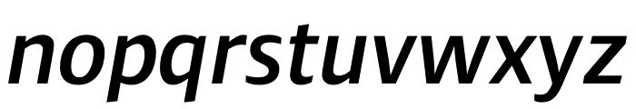 Ardoise Std Demi Italic Font LOWERCASE