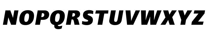 Ardoise Std Heavy Italic Font UPPERCASE