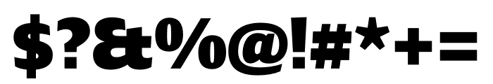 Ardoise Std Heavy Font OTHER CHARS