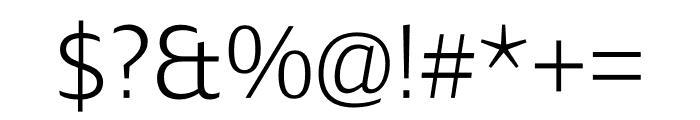 Ardoise Std Light Font OTHER CHARS