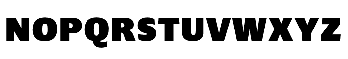 Ardoise Std Narrow Black Font UPPERCASE