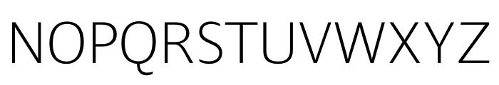Ardoise Std Narrow ExtraLight Font UPPERCASE