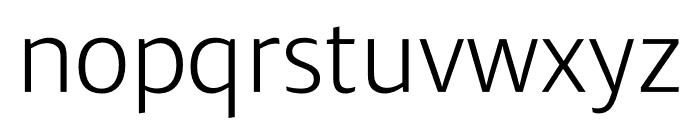 Ardoise Std Narrow Light Font LOWERCASE