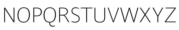 Ardoise Std Thin Font UPPERCASE
