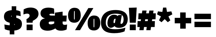 Ardoise Std Tight Black Font OTHER CHARS