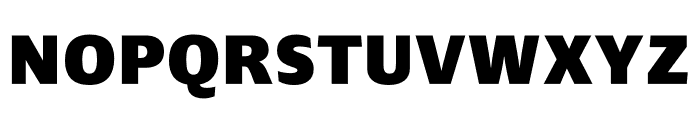 Ardoise Std Tight Heavy Font UPPERCASE