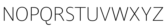 Ardoise Std Tight Thin Font UPPERCASE
