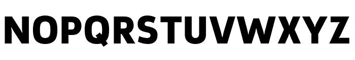 Argumentum Black Font UPPERCASE