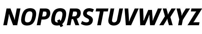 Argumentum Bold Italic Font UPPERCASE