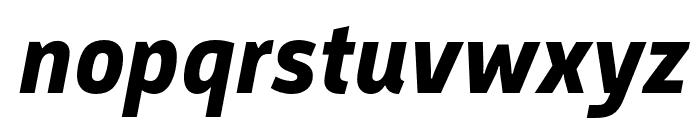 Argumentum Bold Italic Font LOWERCASE