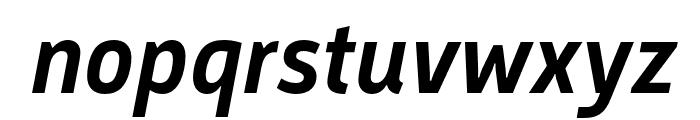 Argumentum Medium Italic Font LOWERCASE