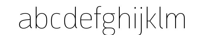 Argumentum Thin Font LOWERCASE