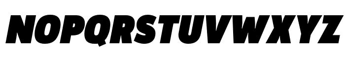 Argumentum Ultra Italic Font UPPERCASE