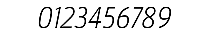 Argumentum Ultra Light Italic Font OTHER CHARS