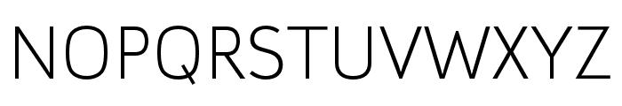 Argumentum Ultra Light Font UPPERCASE