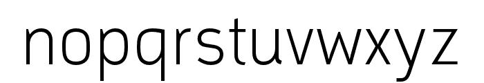 Argumentum Ultra Light Font LOWERCASE