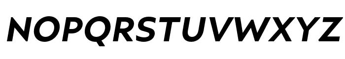 Ariana Pro Bold italic Font UPPERCASE
