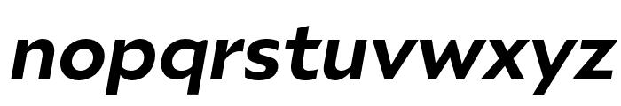 Ariana Pro Bold italic Font LOWERCASE