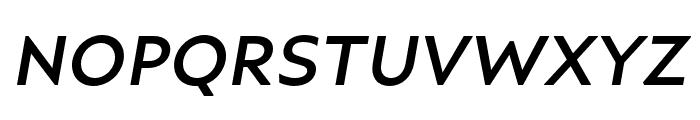 Ariana Pro Medium italic Font UPPERCASE