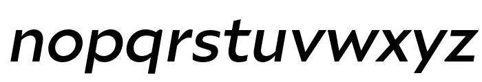 Ariana Pro Medium italic Font LOWERCASE