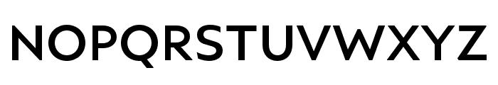 Ariana Pro Medium Font UPPERCASE