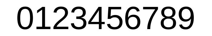 Arimo Regular Font OTHER CHARS