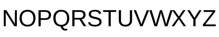 Arimo Regular Font UPPERCASE