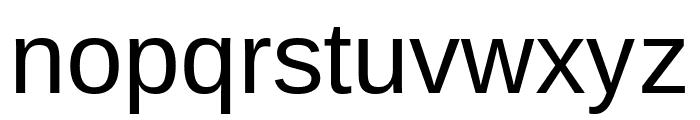 Arimo Regular Font LOWERCASE