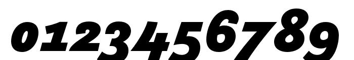 Arlette Black Italic Font OTHER CHARS