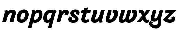 Arlette Bold Italic Font LOWERCASE