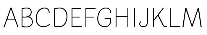 Arlette Light Font UPPERCASE