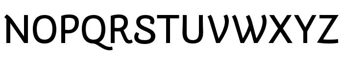 Arlette Regular Font UPPERCASE