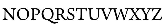 Arno Pro Display Font UPPERCASE