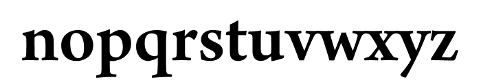 Arno Pro Semibold SmText Font LOWERCASE