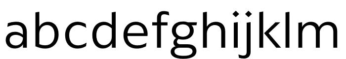 ArponaSans Light Font LOWERCASE