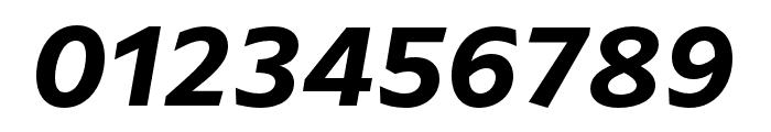 ArponaSans SemiBold Italic Font OTHER CHARS