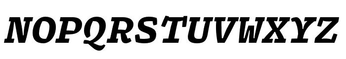 Array Mono Black Italic Font UPPERCASE